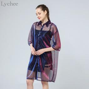 ac1198ac Antigua Blusa Transparente Color Piel - Ropa, Bolsas y Calzado en ...