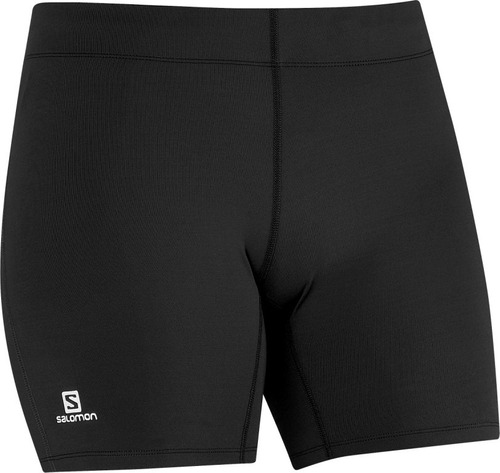 lycra  femenina salomon- start short tight w negro