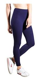 proporcionar un montón de alta moda 60% de descuento Lycra Mujer Leggings Ropa Deportiva Ejercicio Azul