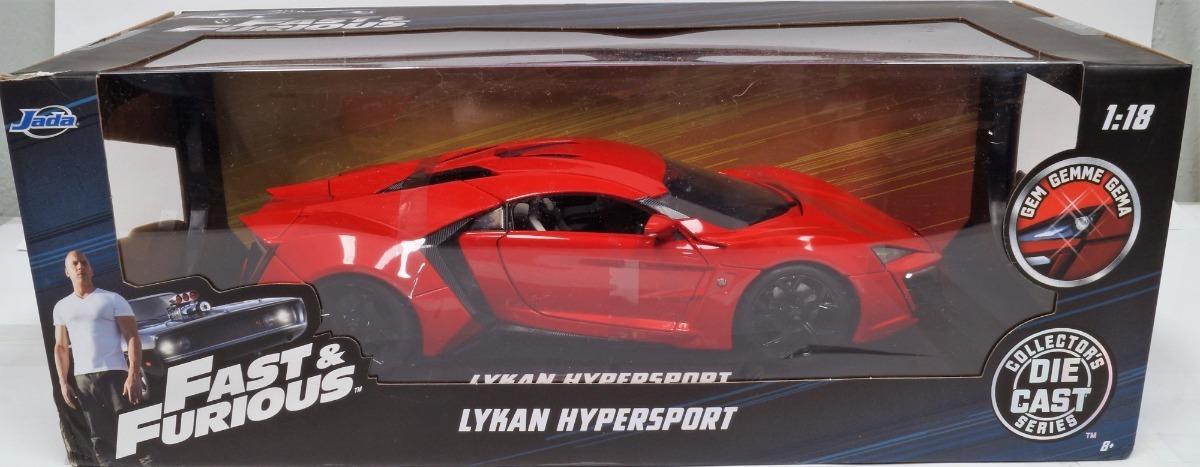 Lykan Hypersport Rapido Y Furioso 7 Escala 1 18 Jada 1 150 00 En