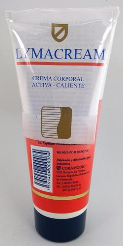 lymacream crema corporal reductora caliente grado 6