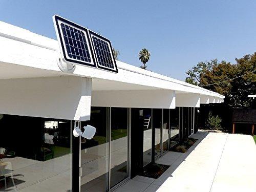 lynx   cámara de vigilancia wifi solar resistente a la intem