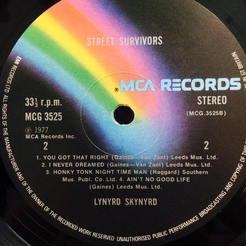 lynyrd skynyrd street survivors import uk capa dupla encarte