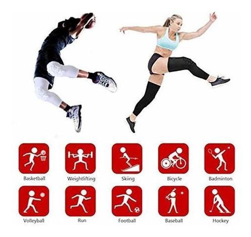 lyricall rodilleras de compresion para voleibol baloncesto f