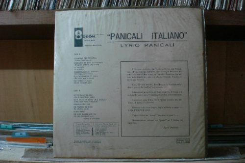 lyrio panicali panicali italiano lp odeon original stereo