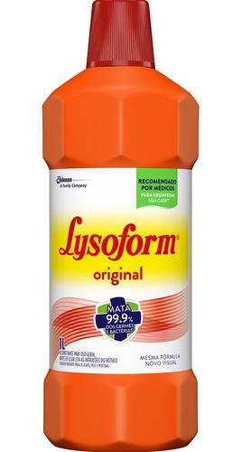 lysoform 1l cx c/6 limpeza prevenir doenças transmissão