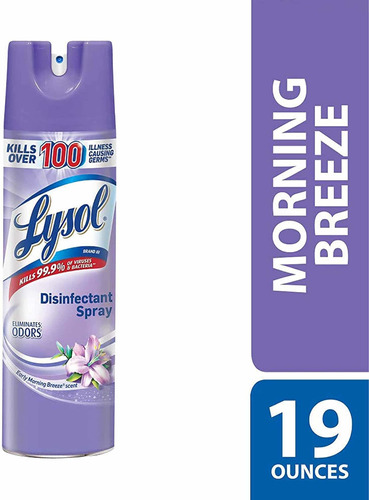 lysol desinfectante en spray