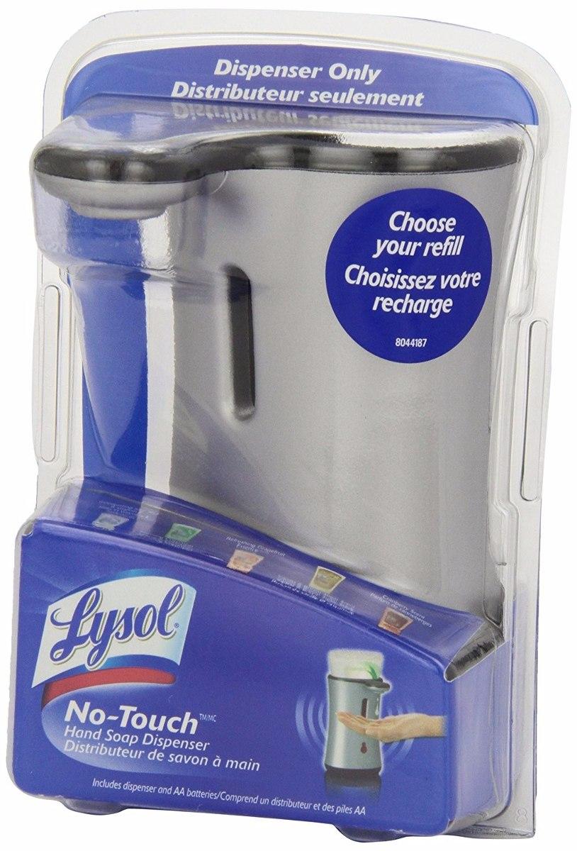 Lysol mano autom tico no touch dispensador de jab n en mercado libre - Dispensador de jabon automatico ...