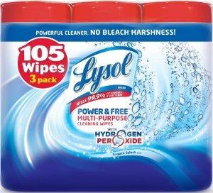 lysol poder y gratuito multiusos value pack de limpieza toal