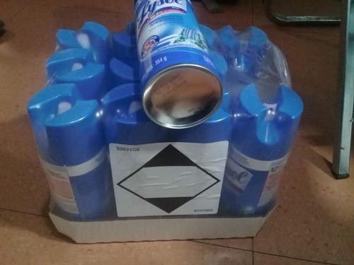 lysol spray 354g paquete con 8 piezas