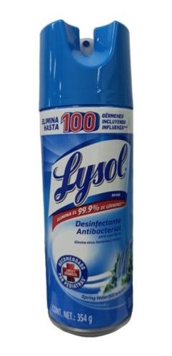 lysol spray desinfectante elimina 99% virus bacterias 345gr