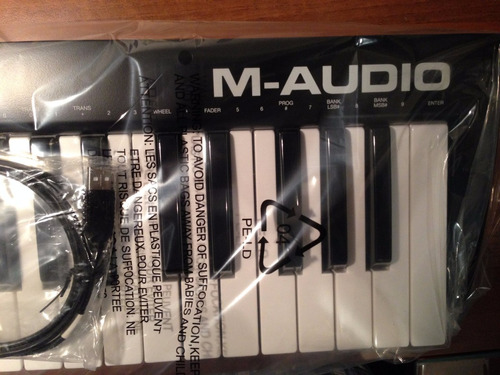 m-audio 49  keystation controlador usb despacho inmediato