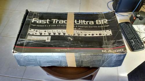 m-audio fast track ultra 8r
