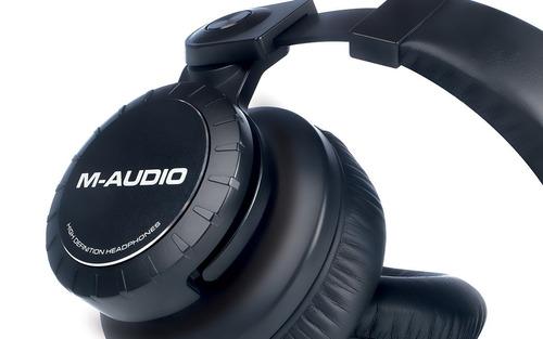 m-audio hdh50 | auriculares de monitor de estudio profesi