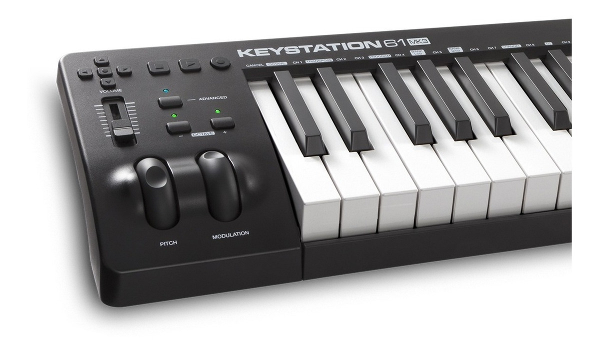 M-audio Keystation 61 Mk3 Controlador Usb Lançamento 2019 - R ...