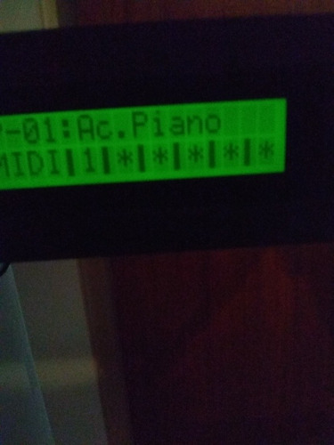 m-audio keystation 88es +pcm module sound roland u-110