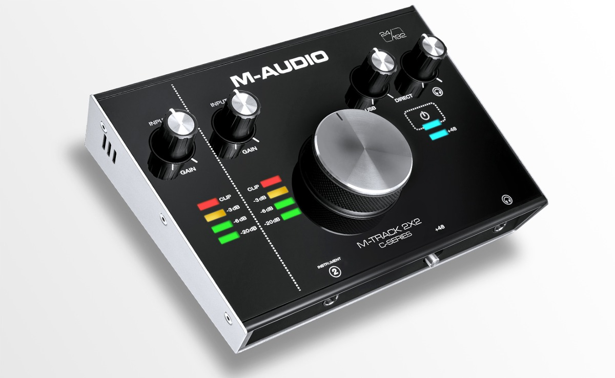 M-audio M-track 2x2 Interface De Audio - $ 632.500 en Mercado Libre
