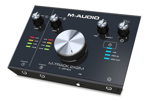 m-audio m-track 2x2m interfaz de audio usb as-informatica