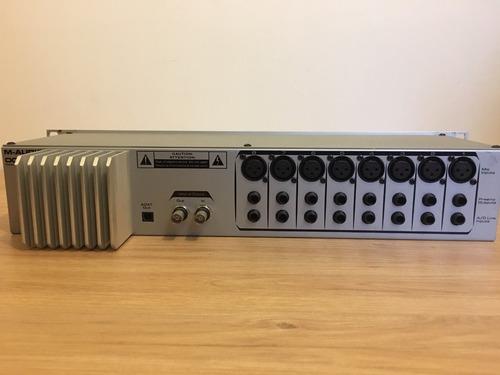 m-audio octane preamplificador hifi 8 canales + cable adat