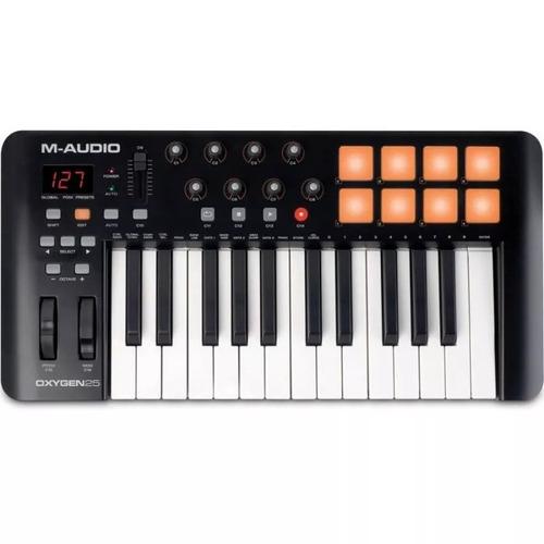 m-audio oxygen 25 v4 teclado controlador midi
