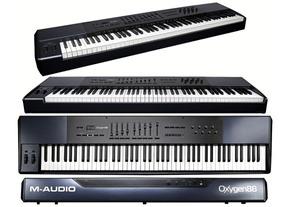 M-audio Oxygen 88 Vst Aax Daw Korg Roland Ensoniq Casio Midi