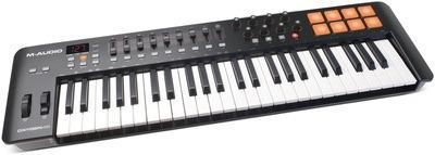 m-audio oxygen49 mk4 teclado usb midi controlador software