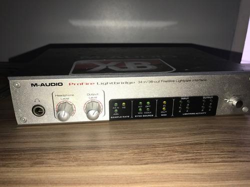 m-audio profire lightbridge 34-in/36-out fairewire