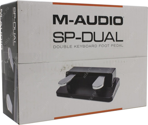 m-audio sp dual pedal sustain y amortiguacion piano teclado