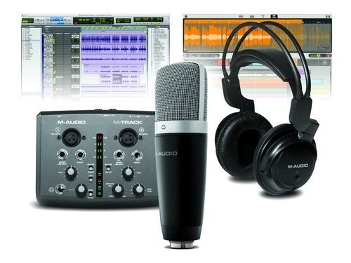 m-audio vocal studio pro kit grabacion usb protools
