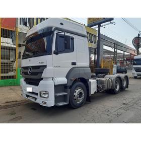 M Benz Axor 2536 6x2 2013/2013 Teto Alto