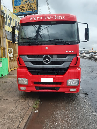 m benz axor 2644 s 6x4 2013/2013 completo