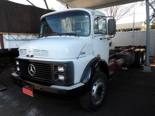 m. benz l 1516 truck 6x2 1985/1985 no chassi
