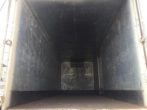 m benz l1318 ano 2006 toco bau refrigerado 7,5 metros