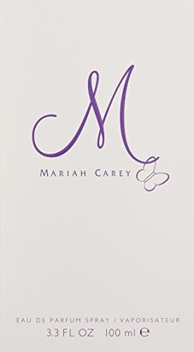 m by mariah carey para mujeres, eau de parfum spray, 3.3 onz