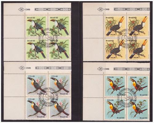 m c-1321 c-1322 c-1323 c-1324 1983 quadra cbc tucanos fauna