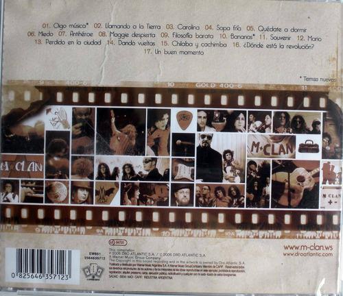 m clan - rock español - retrovision 1995-2006 - cdpromo nac