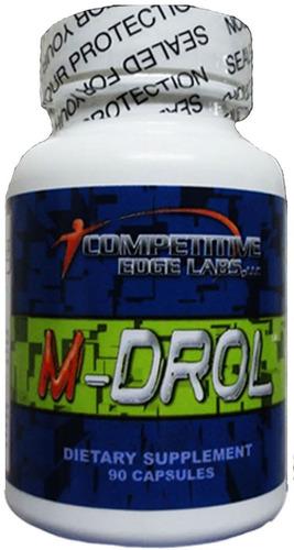 m- drol 90 caps competitive edge labs original frete free