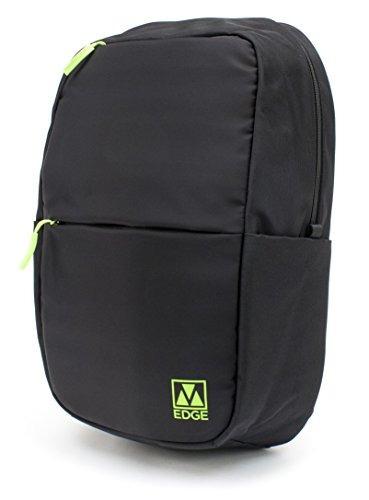 m-edge tech mochila con batería, negro con cal - bpk-t6-n-bl