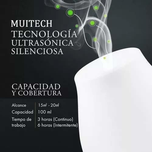 m muitech humificadores de aromaterapia, de aceites esencia