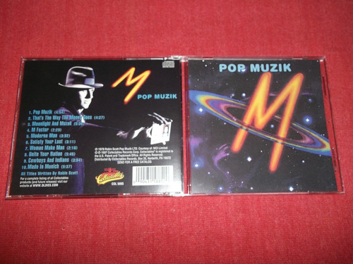 m - pop muzik cd usa ed 1997 mdisk