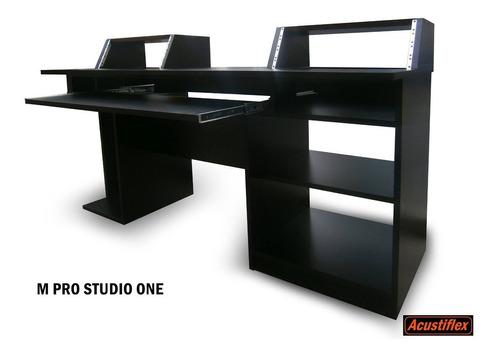 m pro studio 1 acustiflex - mesa escritorio estudio rack