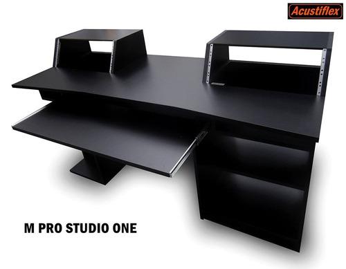 m pro studio one acustiflex - mesa escritorio estudio rack
