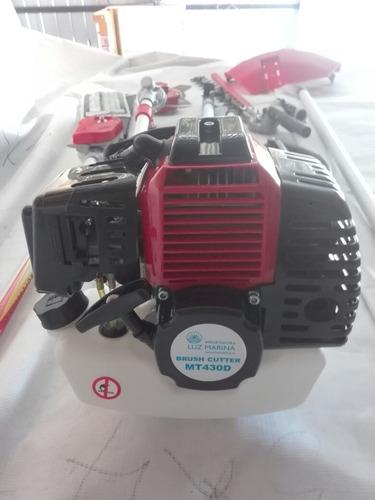 m1050 cortasetos orilladora desbrozadora motosierra 4 en 1