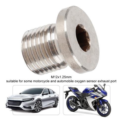 M12 1 25 Mm Oxygen O2 Lambda Sensor Blanking Tapón Bang Moto