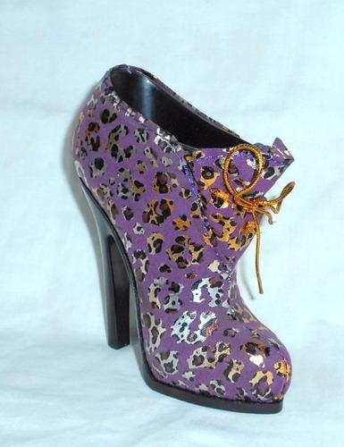 m132 alhajero porta tuti zapato bota forrado en tela animal