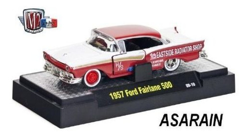 m2 auto drags 2 - 1957 ford fairlane 500 - 1/64