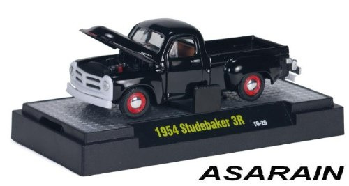m2 auto thentics trucks r 15 1954 studebaker 3r - 1/64