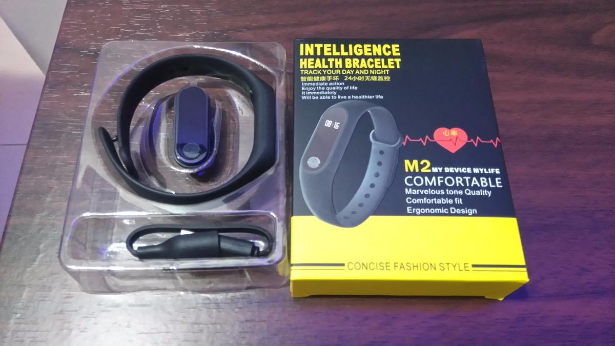 M2 Brazalete Smartwatch Oled Fitness Tipo Xiaomi Mi Band 2