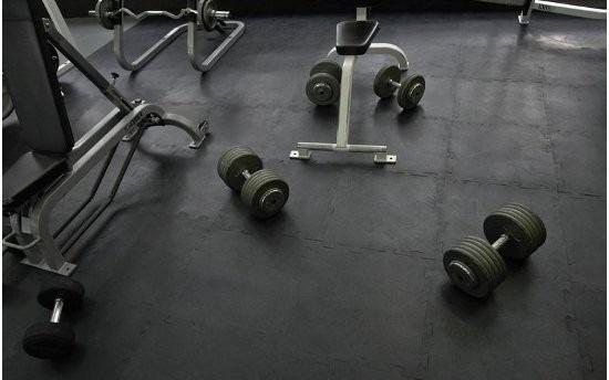 M2 de piso para gimnasio caucho importado fire sports - Suelo gimnasio ...