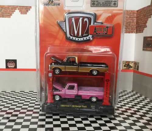 m2 - ford f 100 ranger truck 1969 - 1/64